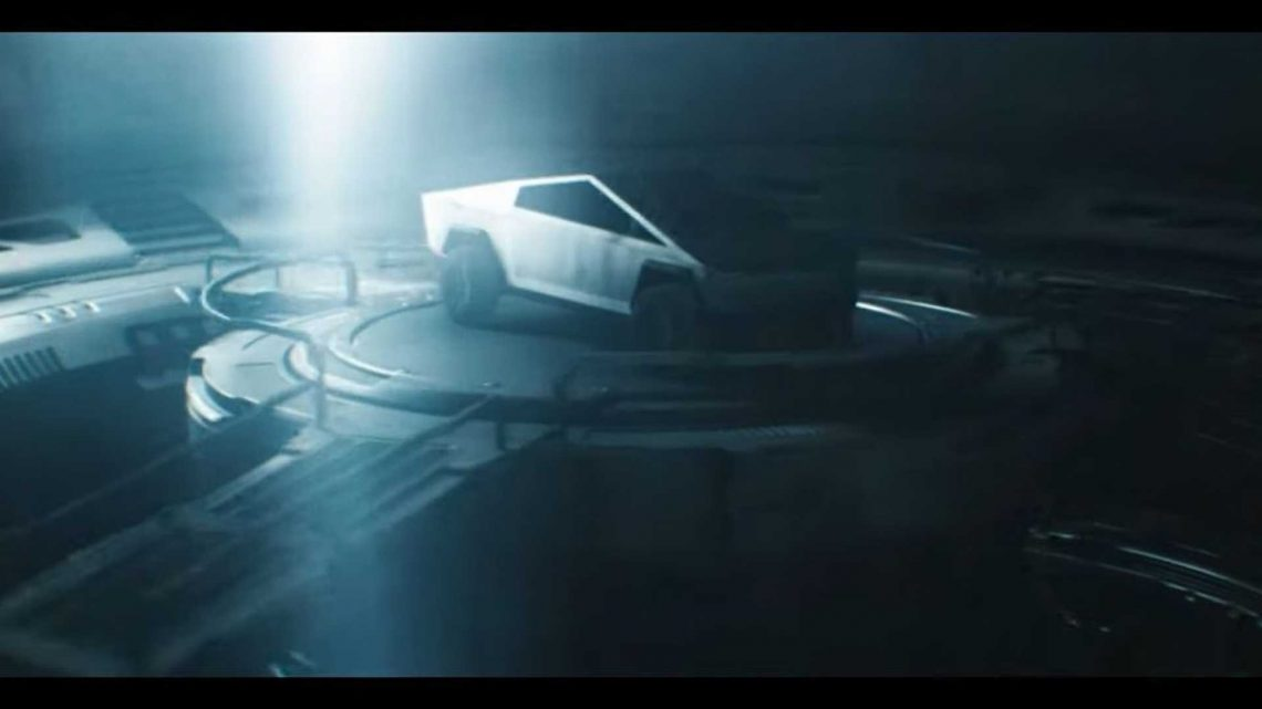 Epic Tesla Cybertruck Spec Ad Entitled 'It Came From Beyond'