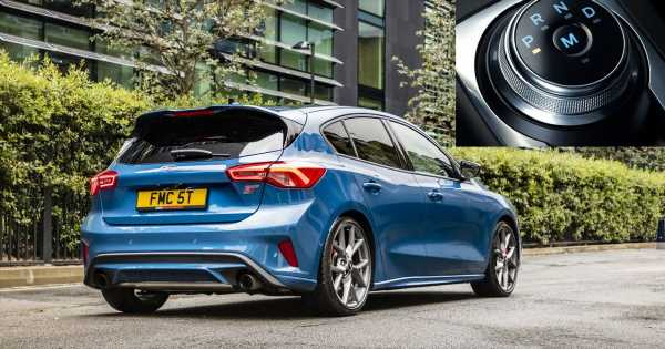 The New Automatic Ford Focus ST Is Slower Than The Manual