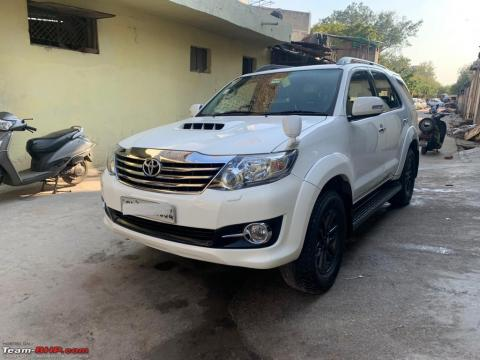 Toyota Fortuner stolen, and later found!