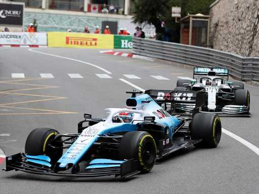 F1 in 'treacherous water' with reverse grids