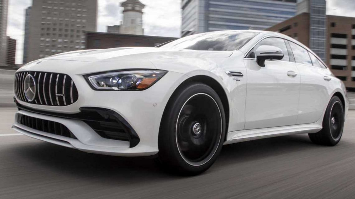 There's a New Entry-Level Model for the Mercedes-AMG GT 4-Door Coupe