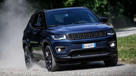 Jeep Compass facelift revealed with new engine options