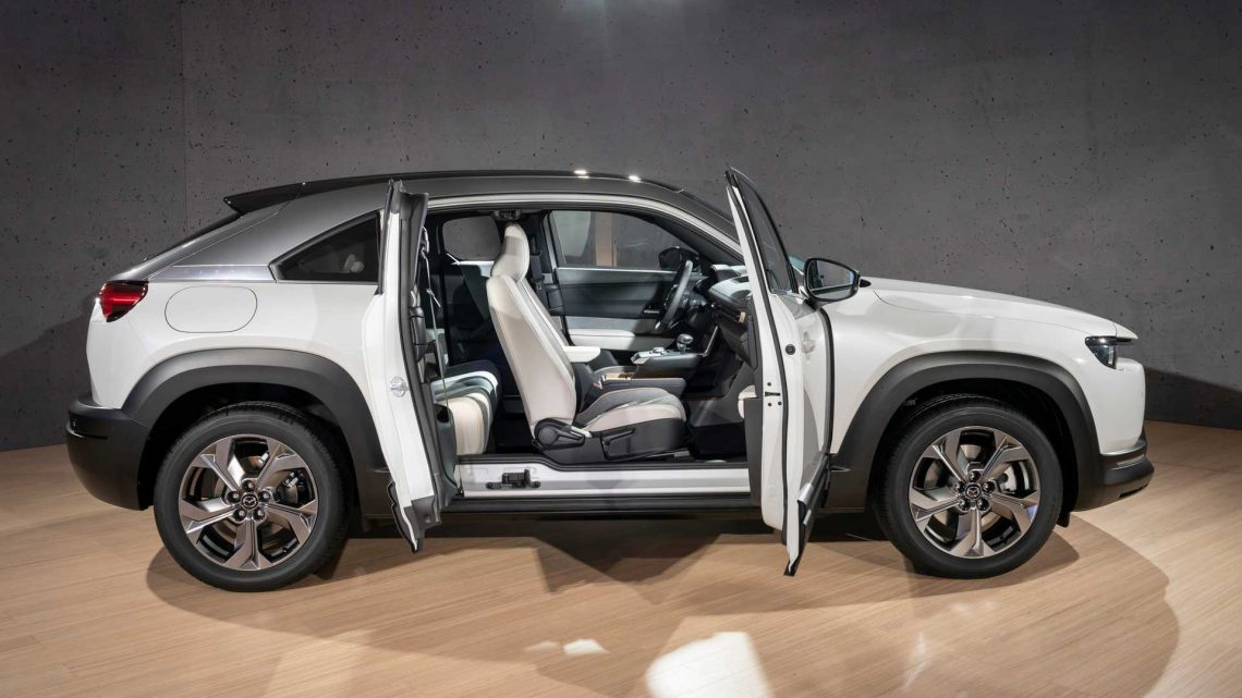 Mazda Blows Its Own Horn About The MX-30 Electric Crossover