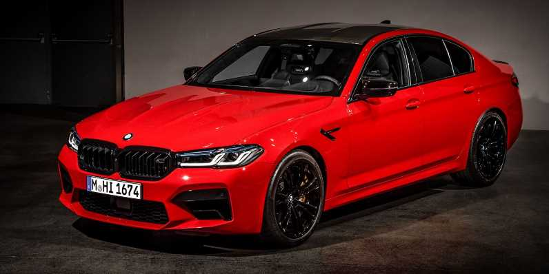 The 2021 BMW M5 Competition Is Here With a New Face and a Retuned Suspension