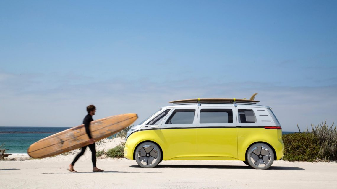 VW Trademarks e-Samba Name In Europe, Could Use It On Production I.D. Buzz.