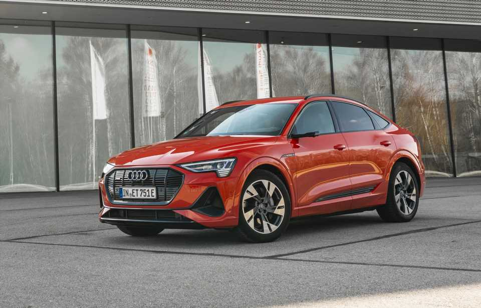 2020 Audi E-Tron Sportback earns Top Safety Pick+ from IIHS