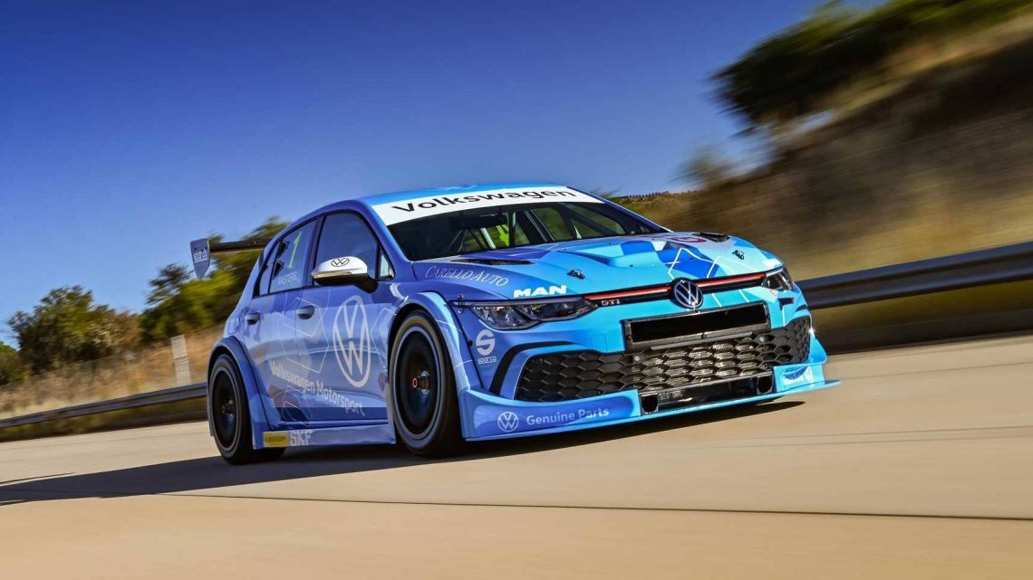 VW Motorsports Reveals 500 HP South African Touring Car Golf 8