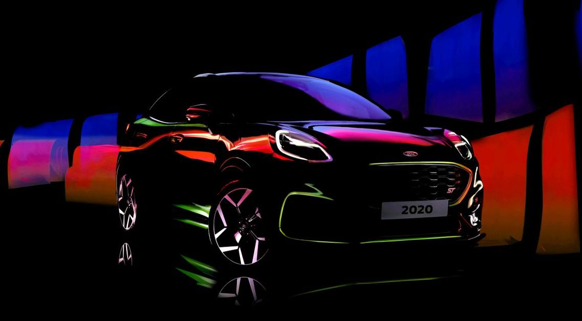Rorty Ford Puma ST Teased With 197bhp And Lime Green Paint