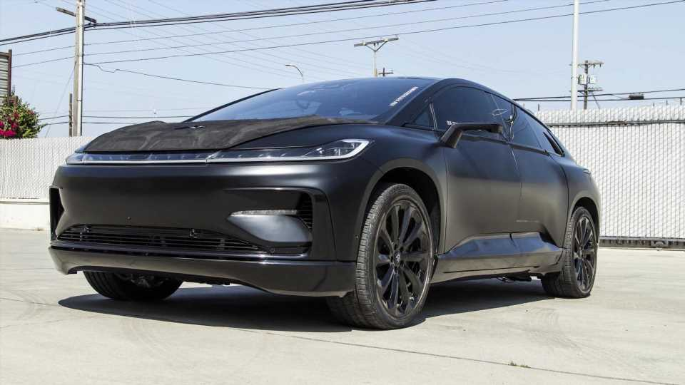 Faraday Future FF 91 Pikes Peak Prototype up for Auction