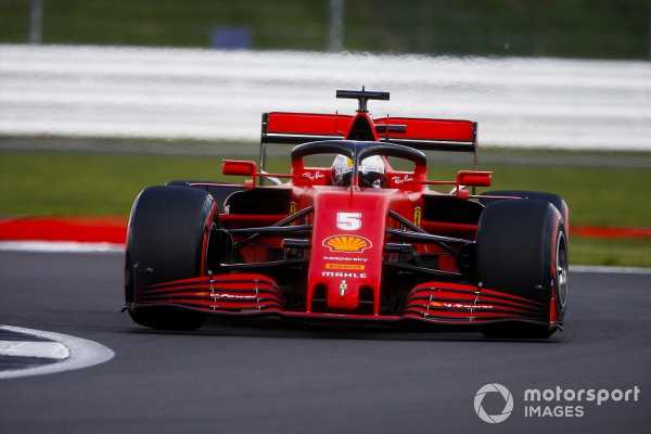 Vettel: British GP weekend can't get much worse
