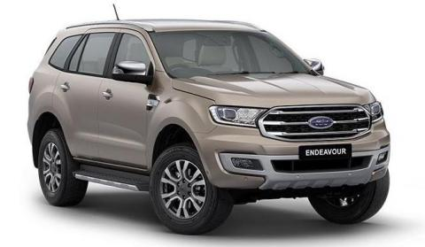Ford Endeavour prices hiked by Rs. 44,000 – 1.20 lakh