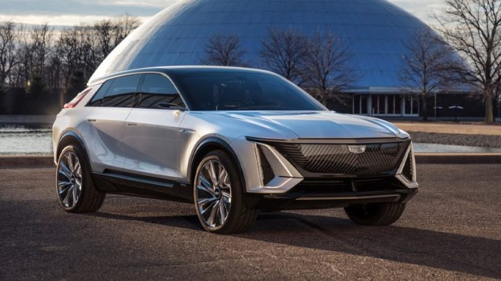 Cadillac Unveils Its First-Ever Fully-Electric LYRIQ Show Car