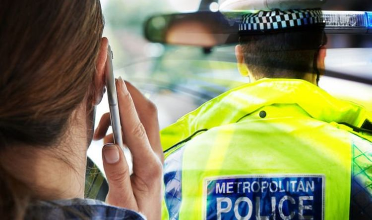 Police officers in major safety crackdown as distracted driver 'fails to react' to police