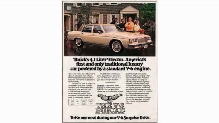 1980 Buick Electra First Detroit Land Yacht to Get Standard V6 Engine