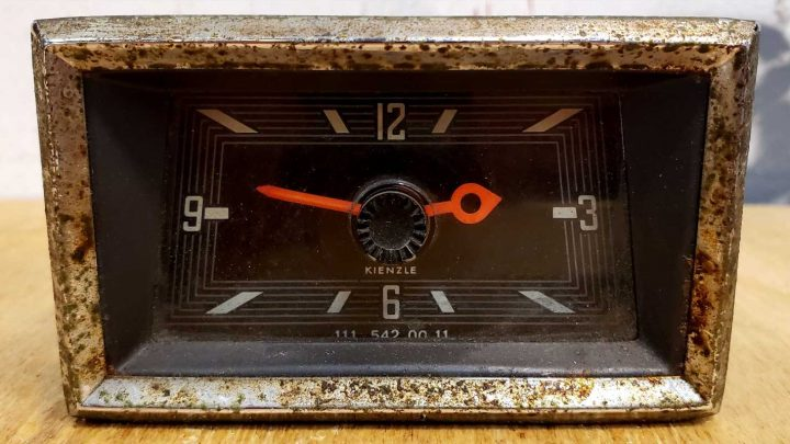 The Car Clock of the Week Comes From a 1967 Mercedes-Benz W110