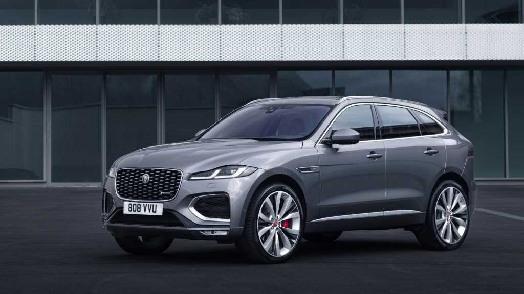 2021 Jaguar F-Pace First Look: A New Look for Jag's Aging Crossover