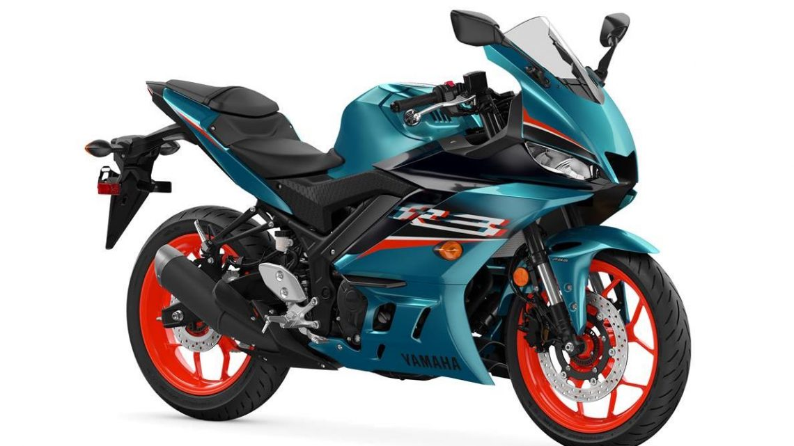 2021 Yamaha YZF-R3 in new teal and MotoGP livery - paultan ...