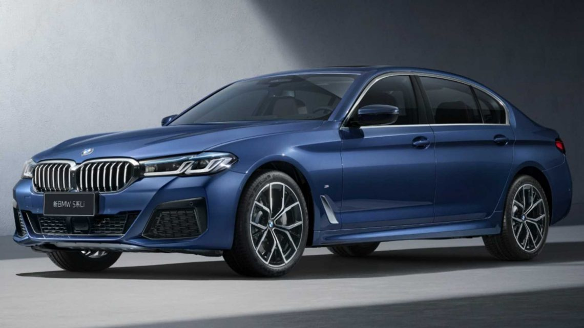 2021 BMW 5 Series Li Stretches Out In China With Long Wheelbase