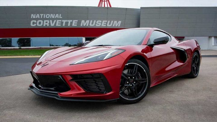 See How The 2021 Chevy Corvette C8 Looks With Red Mist Body
