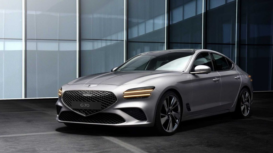 2022 Genesis G70 Official Images Reveal The Expected, Sales Start Soon