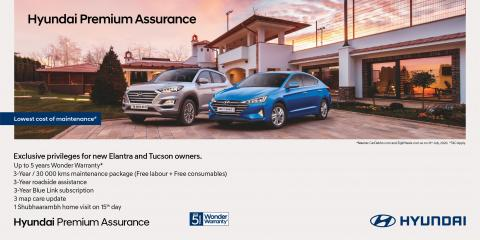 New warranty & service packages for Hyundai Elantra, Tucson