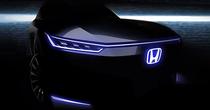 Honda teases new EV concept for Beijing Motor Show – CR-V PHEV will also debut at the postponed event – paultan.org