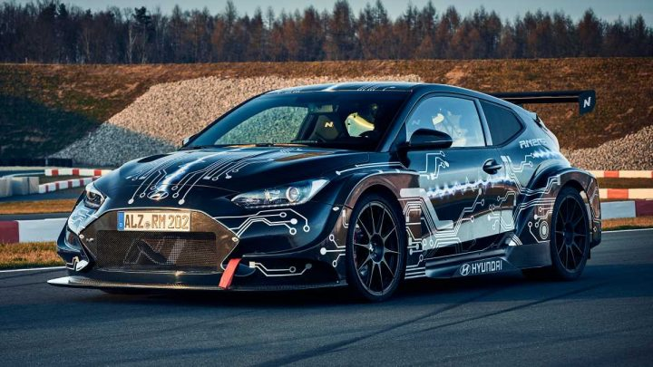New Hyundai RM20e revealed as testbed for future performance EVs