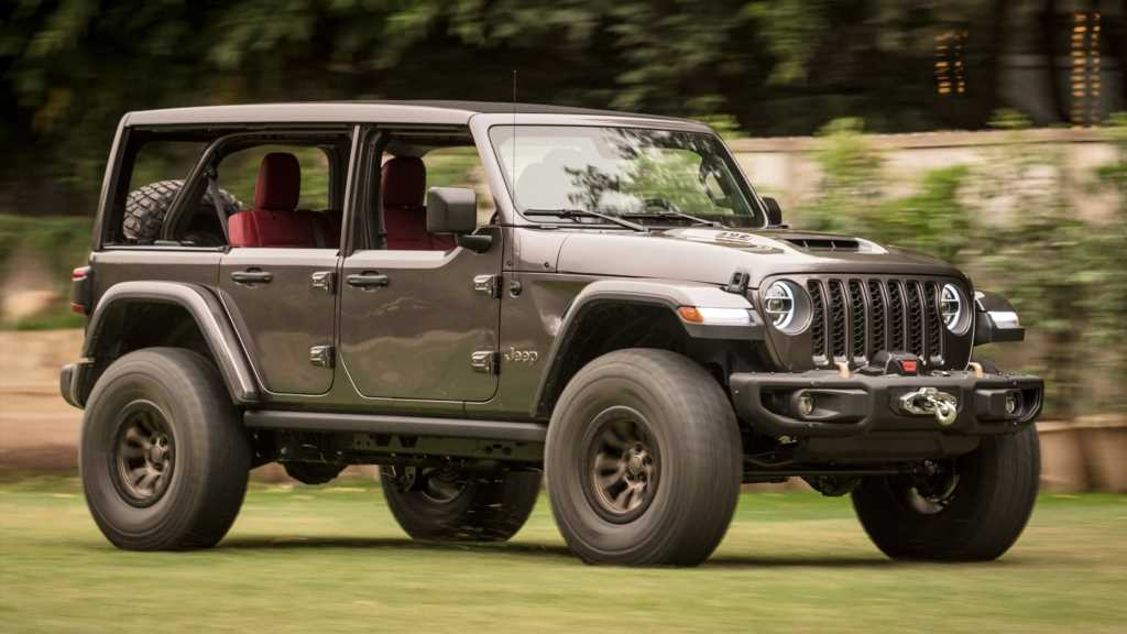 Jeep Wrangler Rubicon 392 Hemi V-8 Concept First Drive Review: It's Bad-Ass!