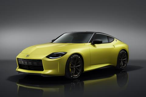 Nissan unveils Z Proto � new Z car with a V6, manual gearbox