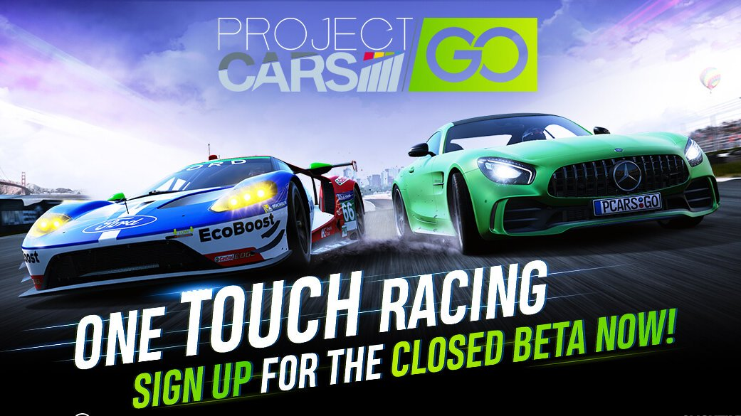 Project CARS GO Mobile Game Closed Beta Registration Now Available