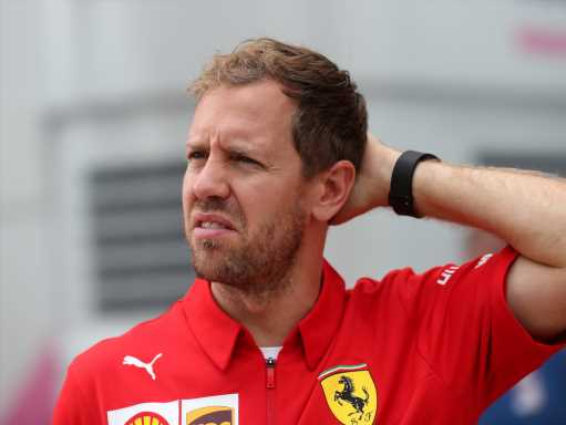 'Nothing really specific' about Sebastian Vettel's woes