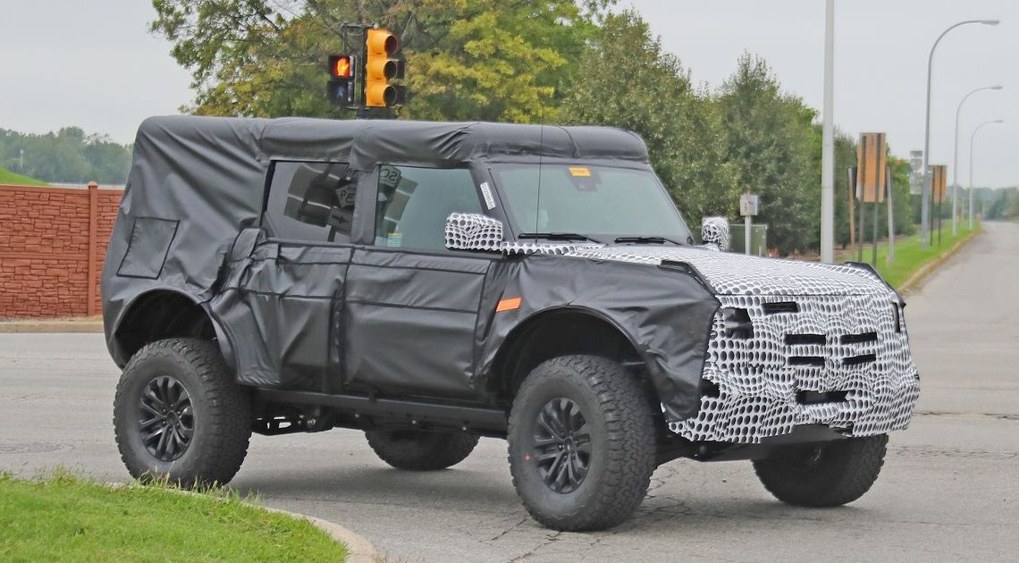 This Is Probably The Ford Bronco Raptor
