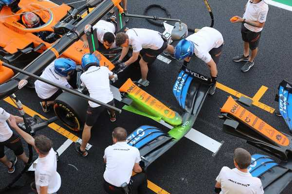 McLaren could race new nose in Russian GP