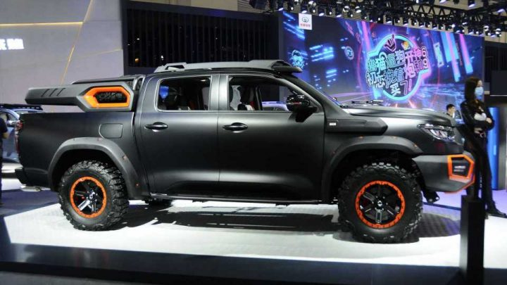 Great Wall Black Bullet Concept Overlanding Rig Debuts In China