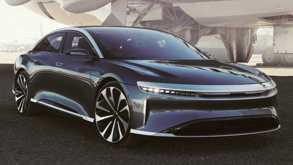 2021 Lucid Air EV Launches With 517-Mile Range, $169,000 Price Tag