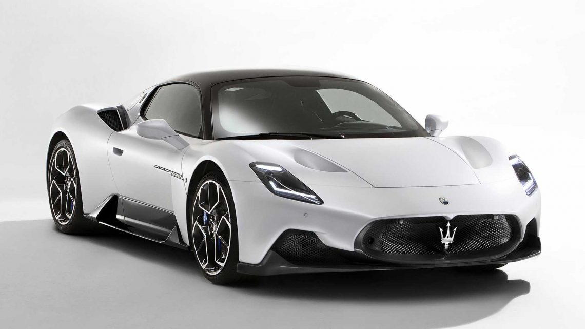 Maserati MC20 Sports Car Revealed With 630 HP And An EV Option