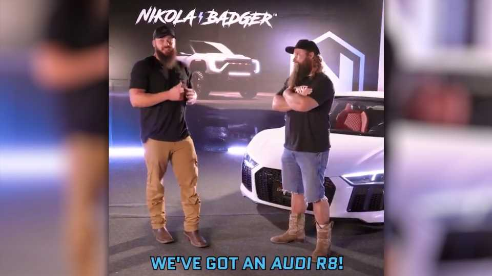 The Diesel Brothers Are Now Shilling For the Nikola Badger, an Electric Pickup That Doesn't Exist