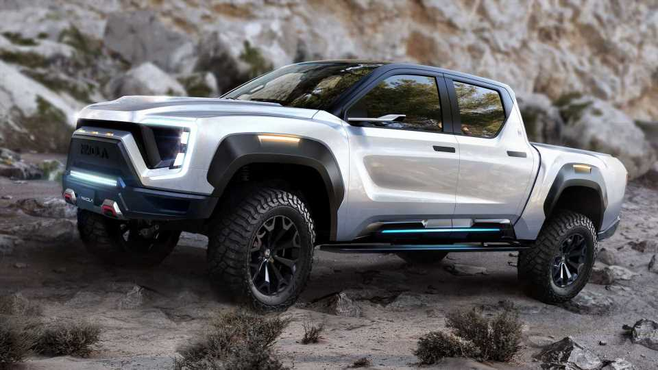 GM Will Manufacture Badger Pickup Truck For Nikola