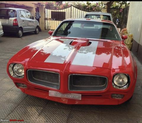 MS Dhoni buys a 1974 Pontiac Firebird Trans Am