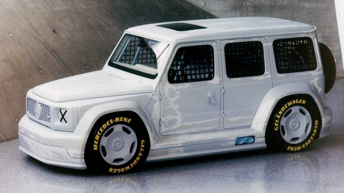 This Extreme Concept Is How Mercedes-Benz Would Build a G-Wagen Race Truck