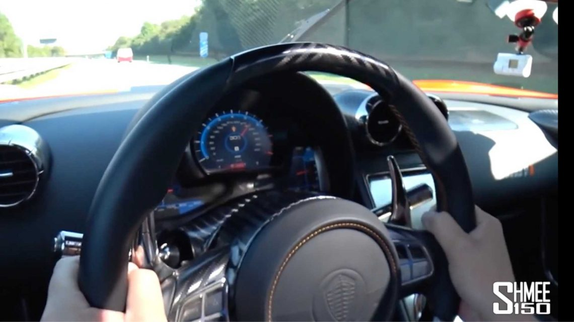 Shmee150 Unleashes Koenigsegg Agera One of 1 On Unrestricted Autobahn