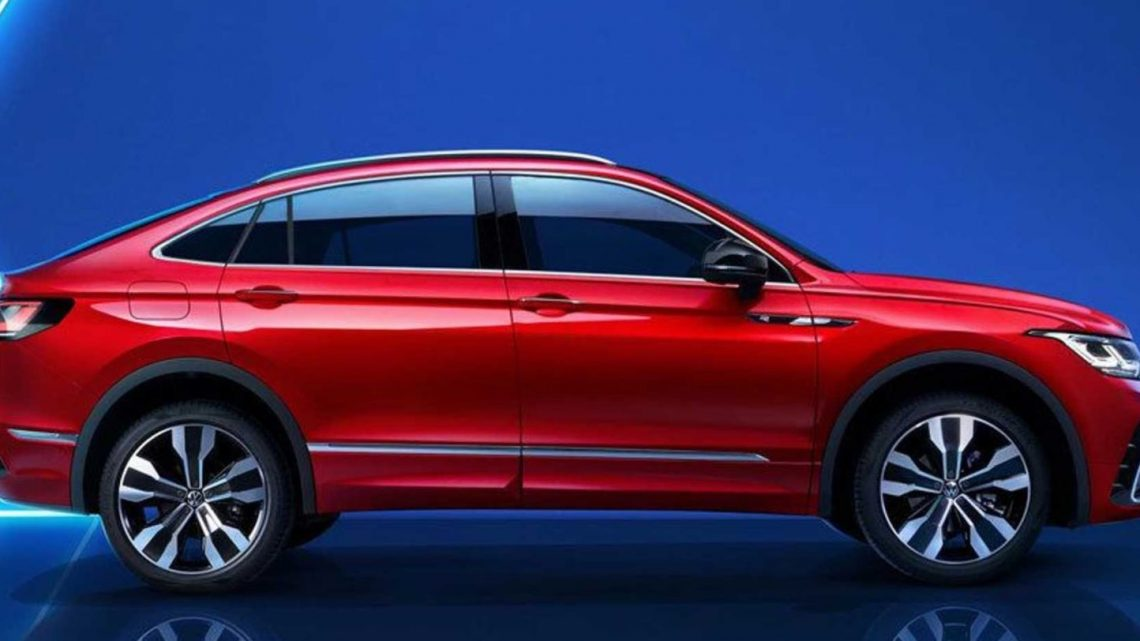 VW Tiguan X Gives the SUV a Coupe-Style Roof