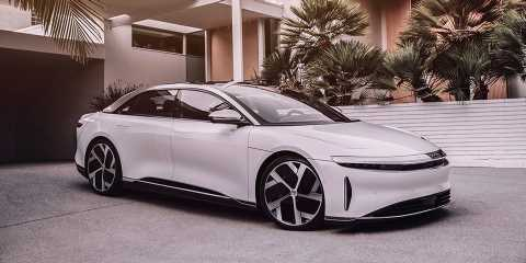 Lucid Motors' 1,080 HP Air Is Here to Overtake Tesla and Porsche's Electric Cars