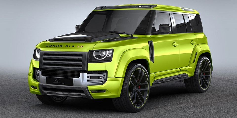 Don't Take LUMMA Design's Widebody Land Rover Defender Offroading