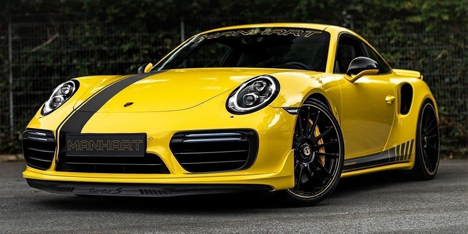 MANHART Pushes the Porsche 911 Turbo S to 850 Horsepower