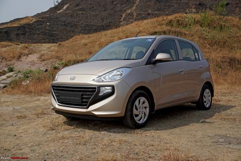 Hyundai Santro CNG Executive edition priced from 5.87 lakh
