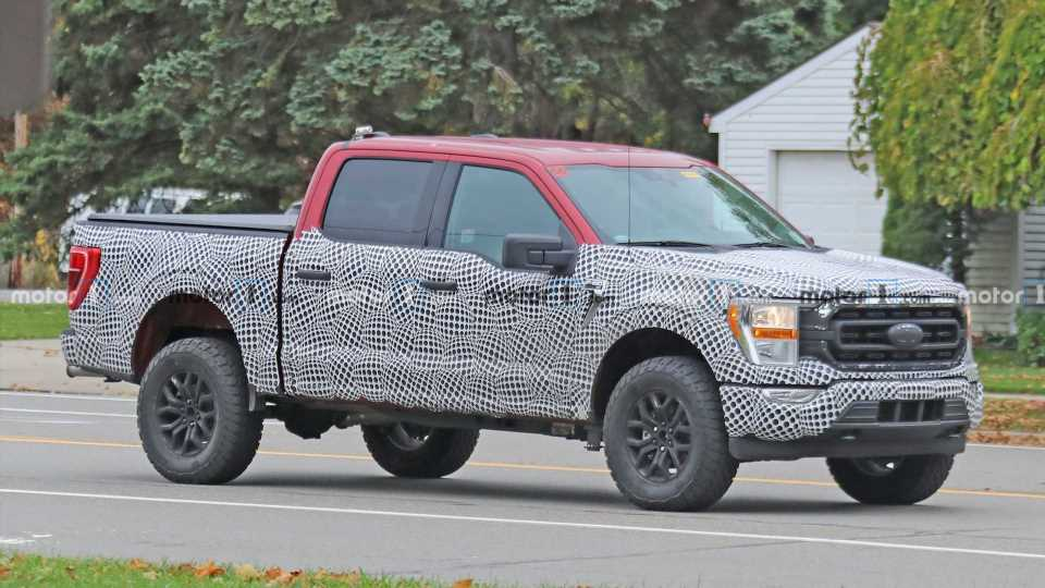 Ford F-150 Tremor Spy Photos Show Off Rugged Pickup Package