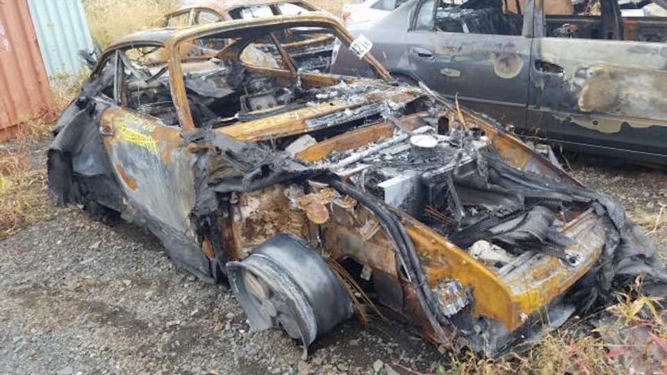 How Did This Torched Singer End Up On Copart?