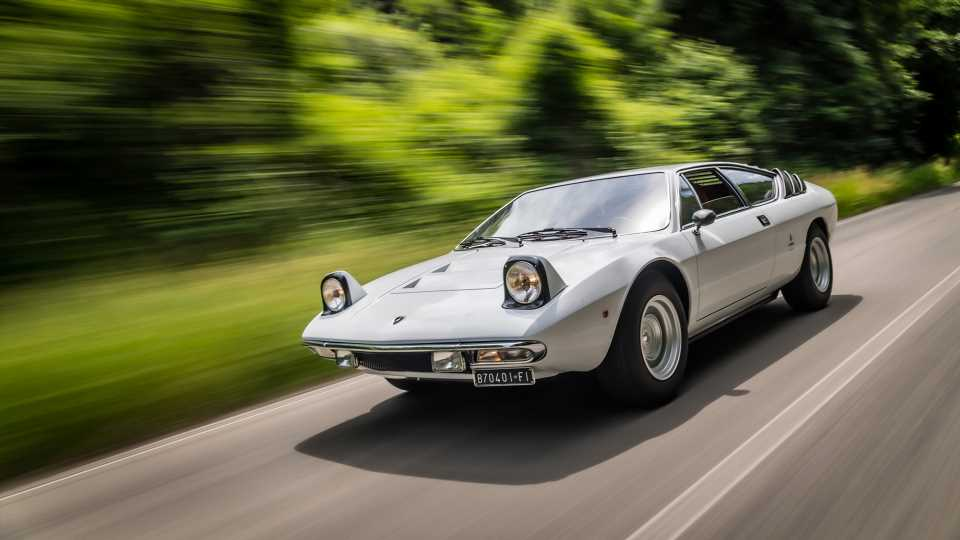 Happy 50th Birthday to the Lamborghini Urraco and Its Teeny 2.5-Liter V8