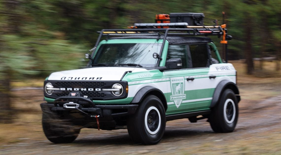 Ford unveils Bronco Filson Wildland Fire Rig concept – paultan.org